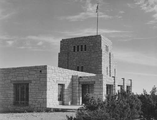 Elevator House around 1933-42 in Carlsbad Caverns National Park, New Mexico free photo