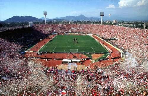 Estadio Nacional de Chile sports stadium in Santiago free photo