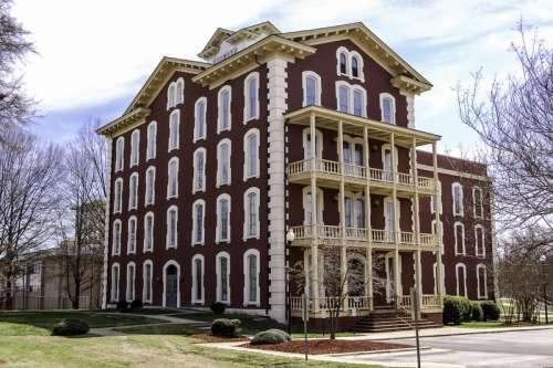 Estey Hall at Shaw University at Raleigh, North Carolina free photo