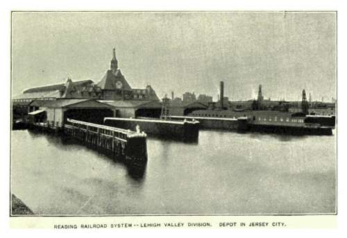 Ferry docks at the Communipaw Terminal in Liberty State Park in Jersey City, New Jersey free photo