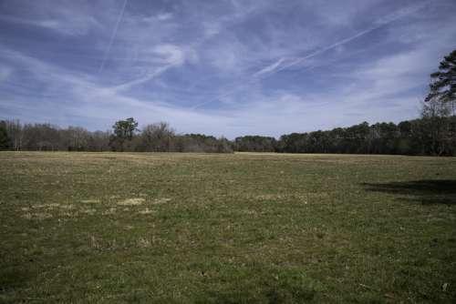 Field Near the French Hospital in Yorktown, Virginia free photo