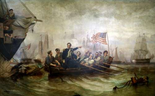 Battle of Lake Erie in the war of 1812 in Erie, Pennsylvania free photo
