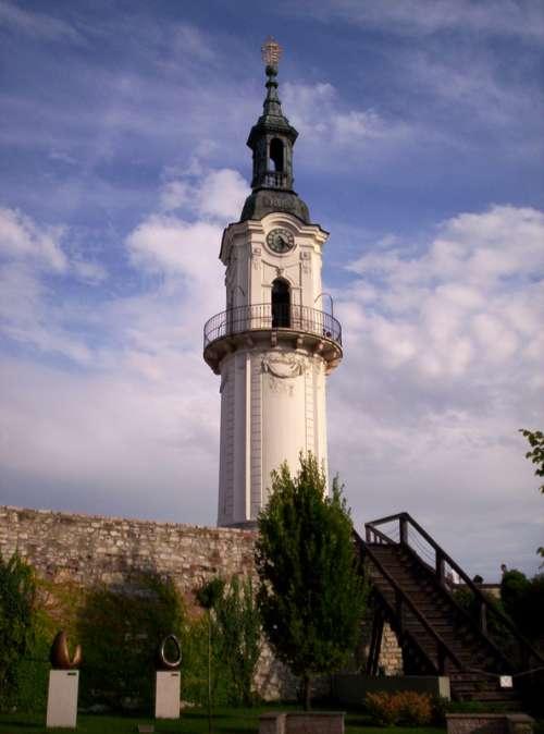 Fire-watch tower in Veszprém, Hungary free photo