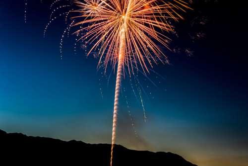 Fireworks at Bridgeport, Connecticut free photo