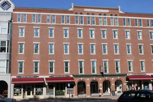 Former Eagle Hotel in Concord, New Hampshire free photo