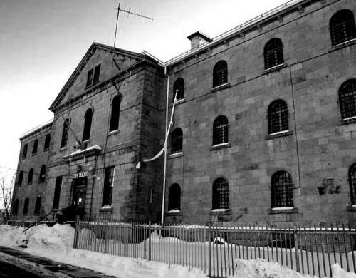 The former Winter Prison building in Sherbrooke, Quebec, Canada free photo