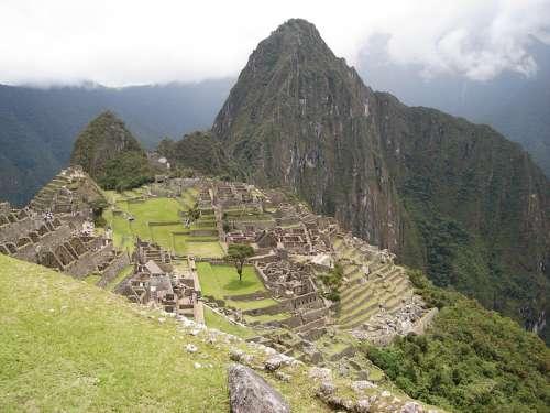 Foto tirada por mim in Machu Picchu, Peru free photo