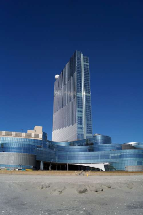 Glass tower in Atlantic City, New Jersey free photo