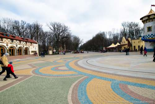 Gorkypark in Kharkiv, Ukraine free photo