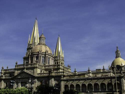Guadalajara Cathedral in Jalisco, Mexico free photo