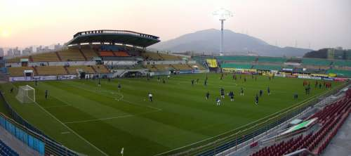 Gwangyang Stadium in South Korea free photo