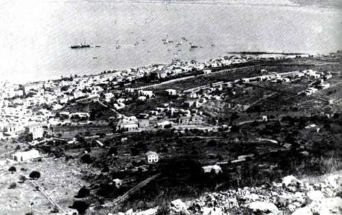 Haifa in 1911 in Israel free photo