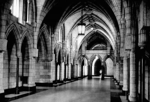Hall of Honour in the Centreblock in Ottawa, Ontario, Canada free photo