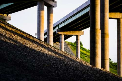 Highway Bridges in Albany, New York free photo