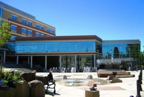Hillsboro's Civic Center and City Hall in Oregon free photo