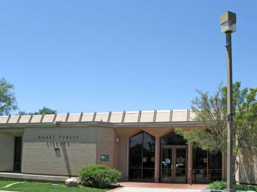 Hobbs Public Library Building in New Mexico free photo