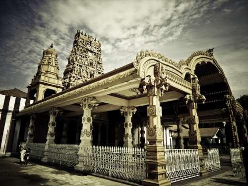 Holy Shrine in Sri Lanka free photo
