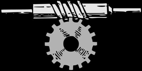 Horizontal Gear Vector Clipart free photo
