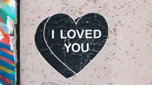 I Love you Message in a Heart free photo