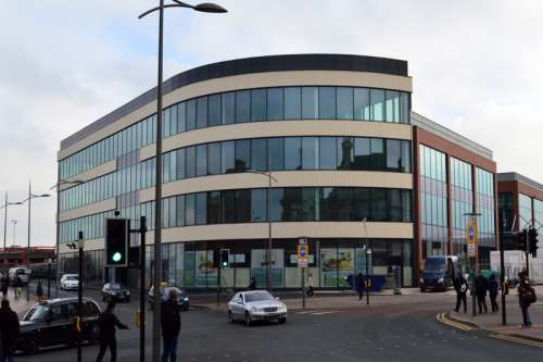 i10 building in Wolverhampton, England free photo