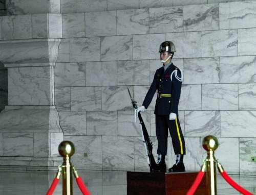 Inside the CKS Memorial in Taipei, Taiwan free photo