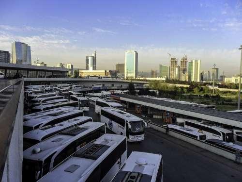 Intercity Bus Terminal in Yenimahalle, Ankara, Turkey free photo
