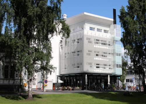 The international student house Aurora in Oulu, Finland free photo