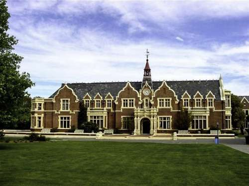 Ivey Hall at Lincoln University in Christchurch, New Zealand free photo