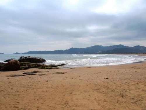 Jinshan Coastline in Taiwan free photo