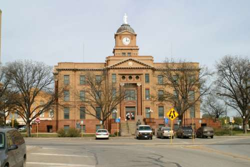 Jones County Courthouse in Anson, Texas free photo