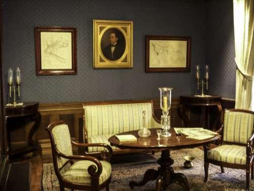 Juárez's study in the Juárez Museum in Mexico City free photo