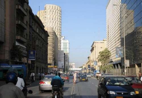 Karachi's financial Center in Karachi, Pakistan free photo