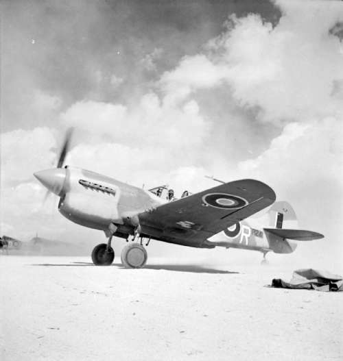 Kittyhawk Mark III during the 2nd battle of El Alamein, World War II free photo