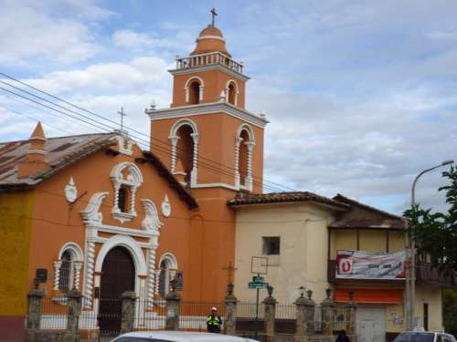 La Merced church in Huancayo, Peru free photo