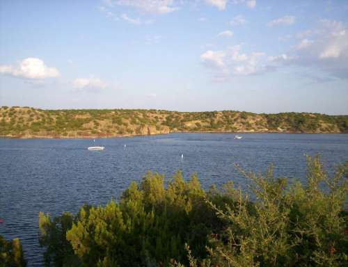 Lake Alan Henry in Texas and skies free photo