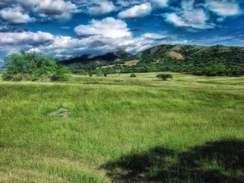 Landscape with Hills in Puerto Rico free photo