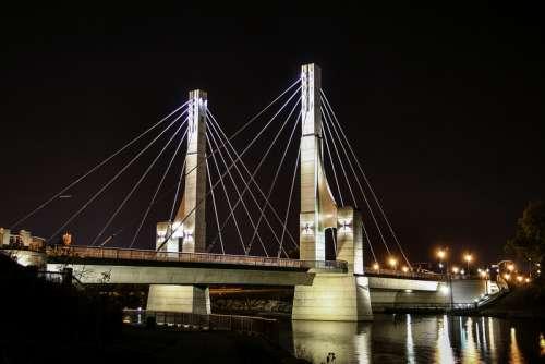 Lane Avenue Bridge in Columbus, Ohio free photo