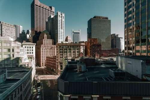 Looking at the Cityscape of Boston, Massachusetts free photo