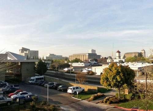 Looking at Downtown Fresno, California free photo