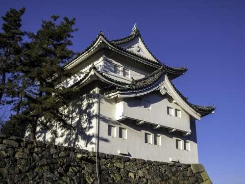 Looking at Nagoya Castle, Japan free photo