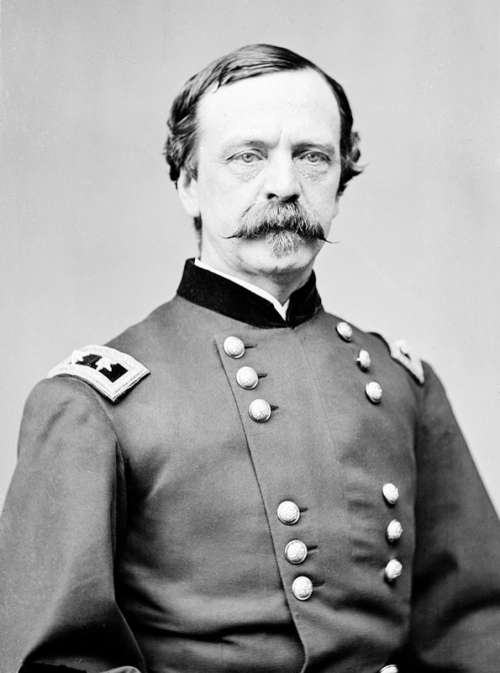 Maj. Gen. Daniel E. Sickles, USA, Union Army free photo