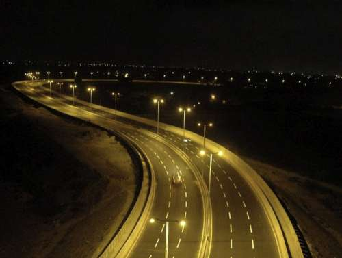 Malir River Bridge in Karachi, Pakistan free photo