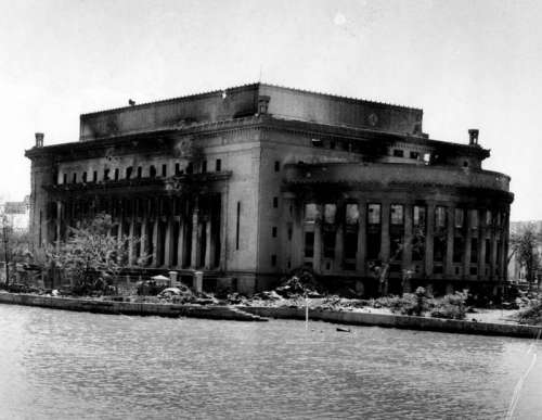 Manila Central Post during World War 2 in the Philippines  free photo