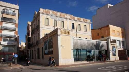 Maritime Museum building, Lloret de Mar in Spain free photo