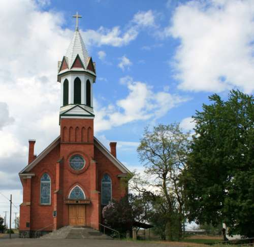 Mary Queen of Heaven Catholic Church in Sprague, Washington free photo