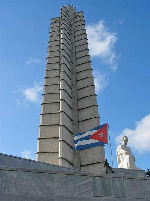 Memorial Jose Marti in the Revolutionary Plaza in Havana, Cuba free photo