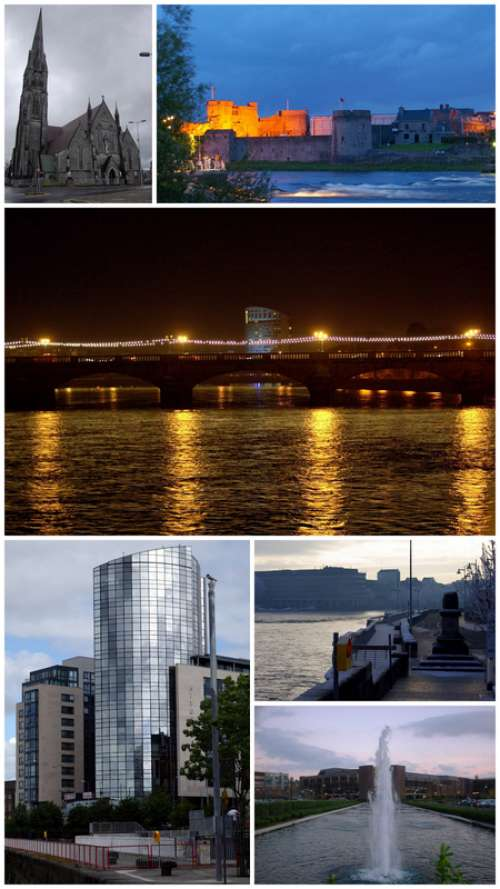 Montage of Limerick, Ireland free photo