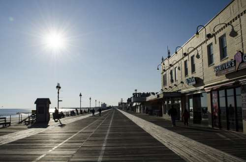 Morning in Ocean City, New Jersey free photo