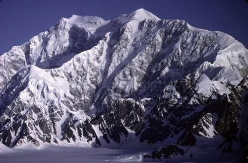 Mount Logan from the southeast in Yukon Territory, Canada free photo