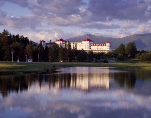 Mount Washington Hotel in New Hampshire free photo